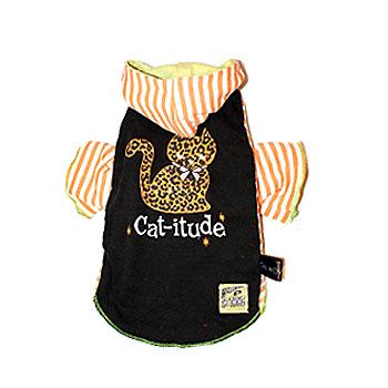 Cat-itude Vintage Hoodie XXS