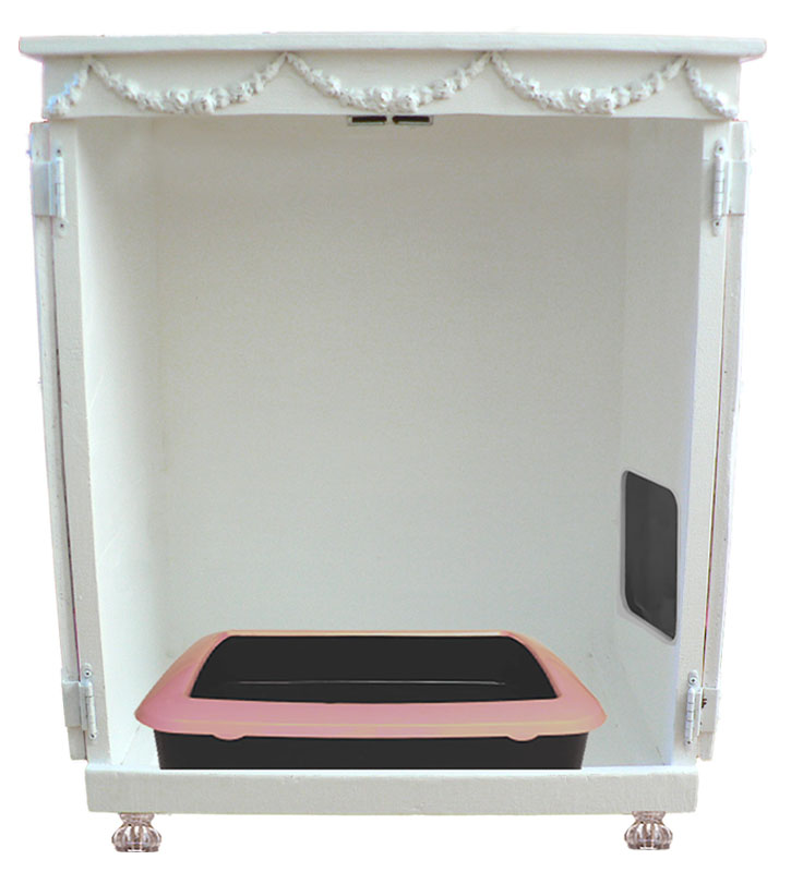 Haleigh Litterbox Cabinet
